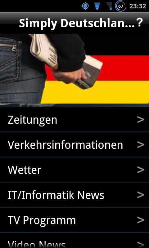 Simply Deutschland News Free- screenshot