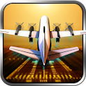 Classic Transport Plane 3D icon