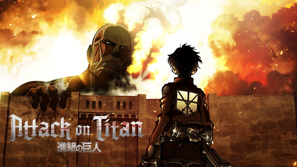 Image result for attack on titan wall break
