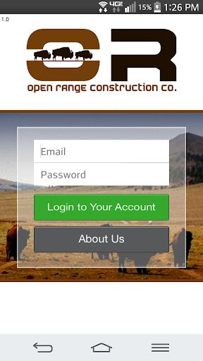 【免費商業App】Open Range Construction Co.-APP點子