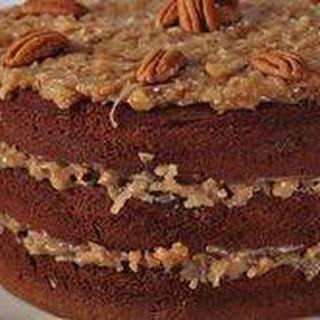 German Chocolate Cake Recipe & Video