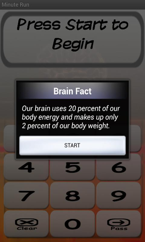 Math For the Brain - screenshot