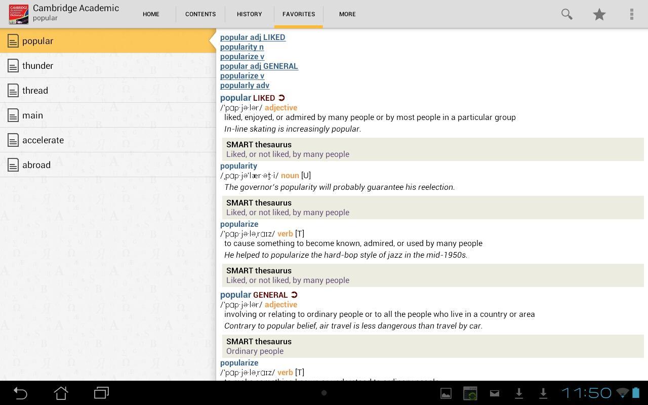 Cambridge Academic Content TR - screenshot