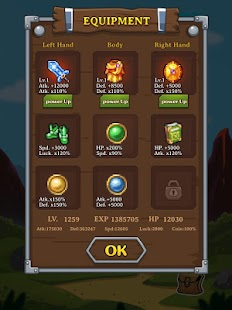 8 Dungeon Quest App screenshot