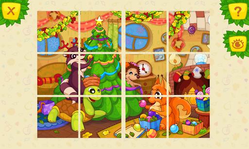 動物智力拼圖 兒童遊戲