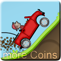 Hill Climb Racing more Coins icon