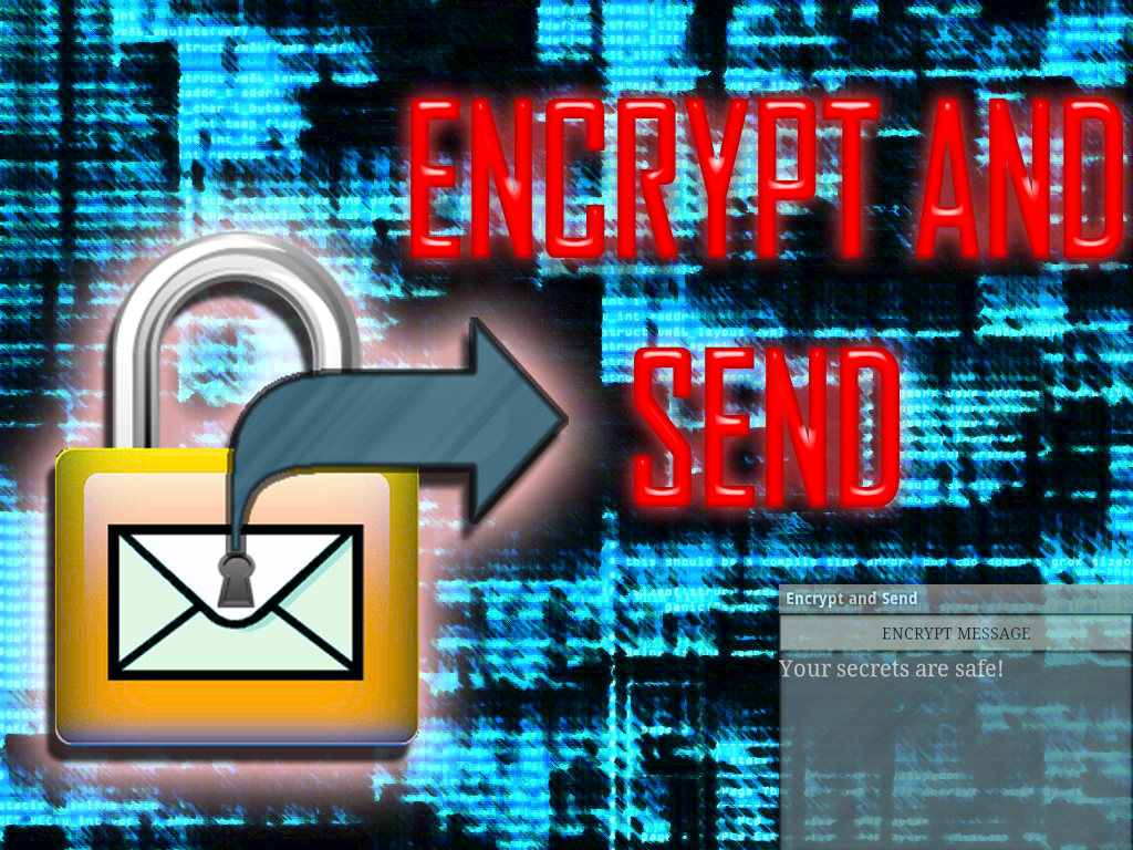 Encrypt and Send - screenshot