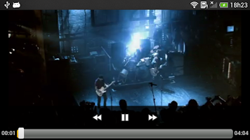 Screenshot of MEO Music