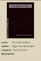 Screenshot of The Gods of Mars