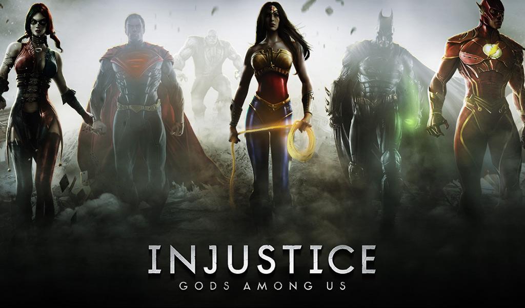 Injustice Gods Among Us Hack Mod v2.4.1 APK (Unlimited Gold) - Cover