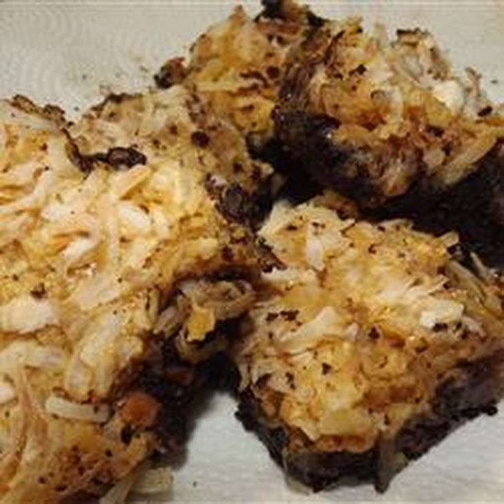 Macaroon Cookie Bars Recipe