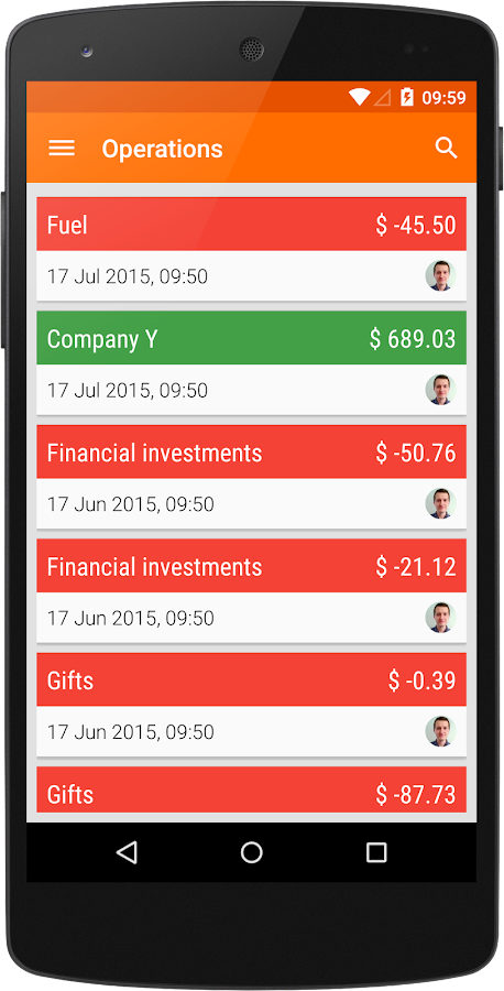 Owl Money Manager - screenshot