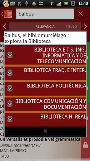 【免費書籍App】BibliotecAppUGR-APP點子