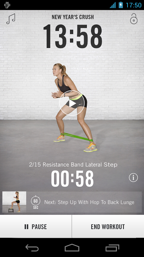 Nike Training Club - screenshot