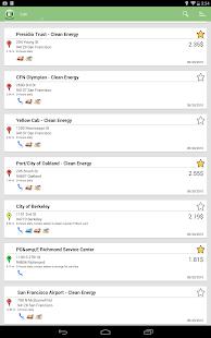 Alternative Fuel Locator USA - screenshot thumbnail