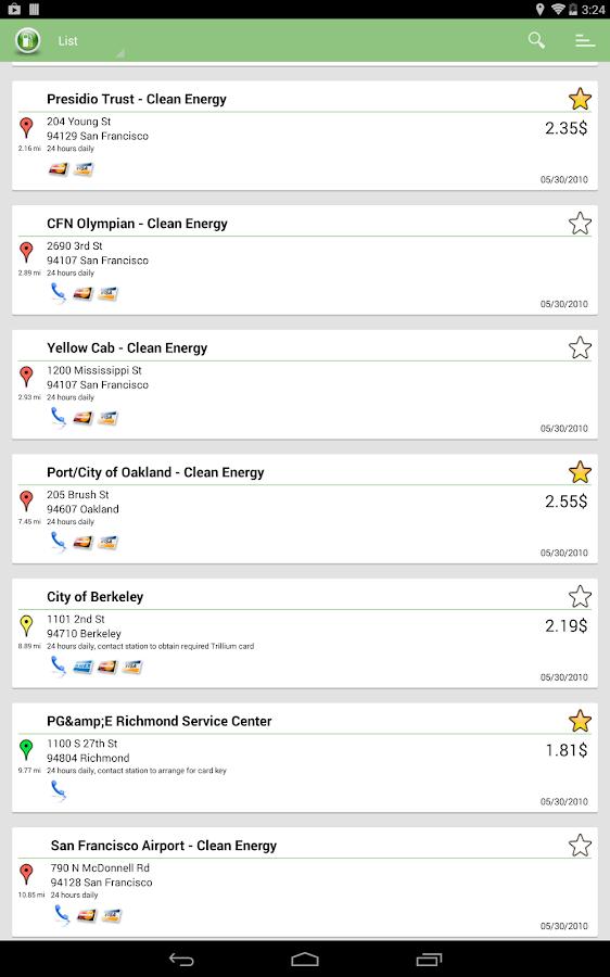 Alternative Fuel Locator USA- screenshot