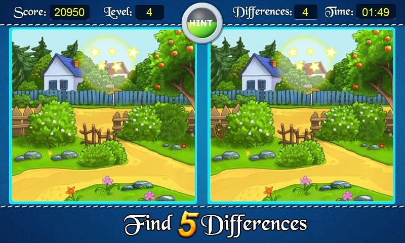 Find Five Differences - Android Apps on Google Play