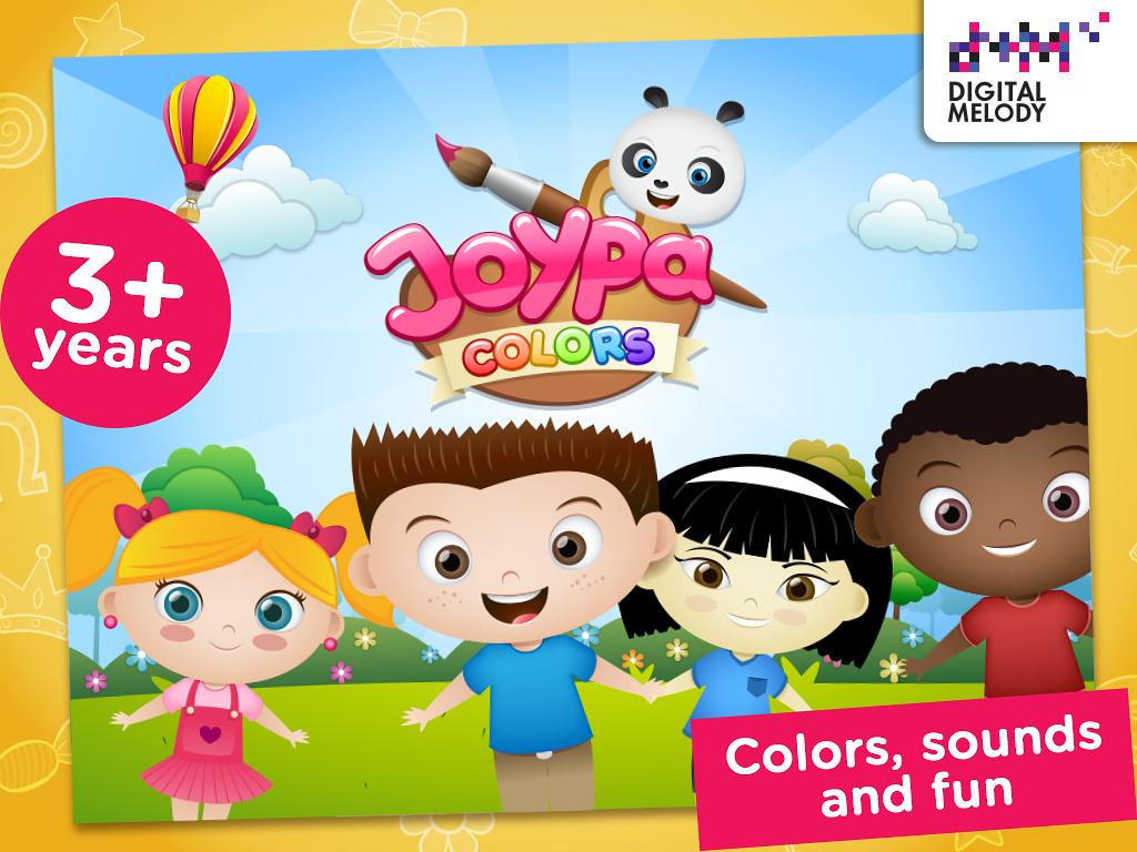 Joypa Colors Super Kolorowanka - screenshot