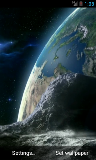 Earth Live Wallpaper HD
