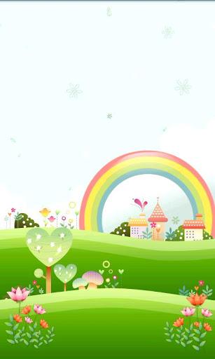 Cute Village Live Wallpaper