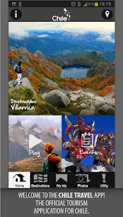 Chile Travel: miniatura de captura de pantalla