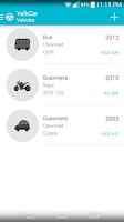 Screenshot of YeikCar - Vehicle Management