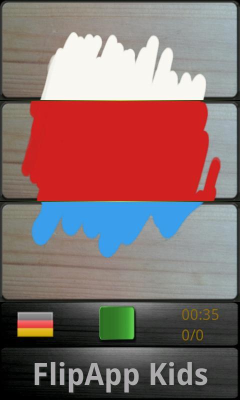 FlipApp Kids Languages- screenshot