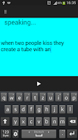 Screenshot of Speak It