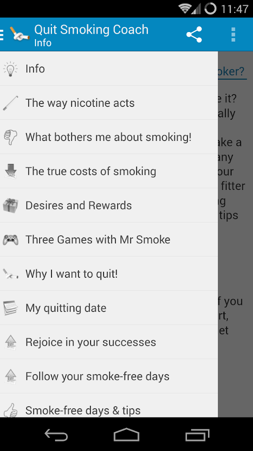 My Quit Smoking Coach- screenshot