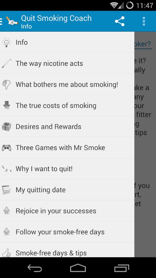 My Quit Smoking Coach - screenshot