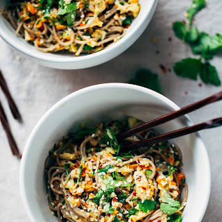 Chopped Chicken Sesame Noodle Bowls