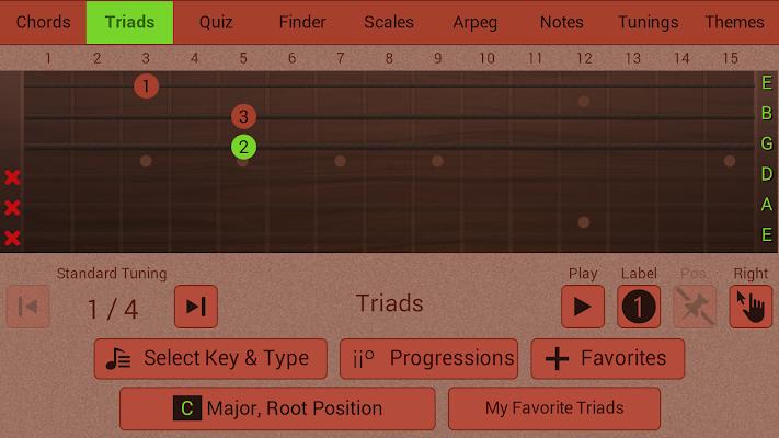 Guitarist's Reference - screenshot