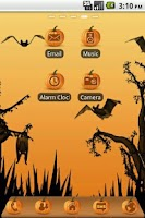Screenshot of Halloween Pumpkin Theme Free