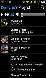 BluePlaylist Music Player- screenshot thumbnail