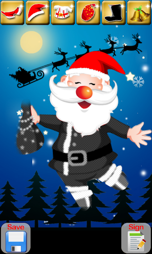 Dress Up Santa Game