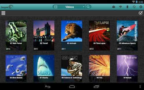 Seagate Media™ app - screenshot thumbnail