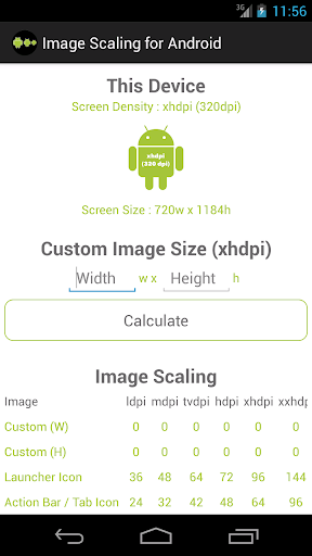 Image Scaling for Android