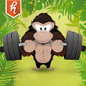 Gorilla Weight Lifting: Strong icon