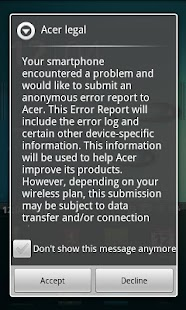 AcerNidus - Bug Report Service - screenshot thumbnail