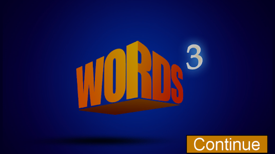 Words Cubed - screenshot thumbnail