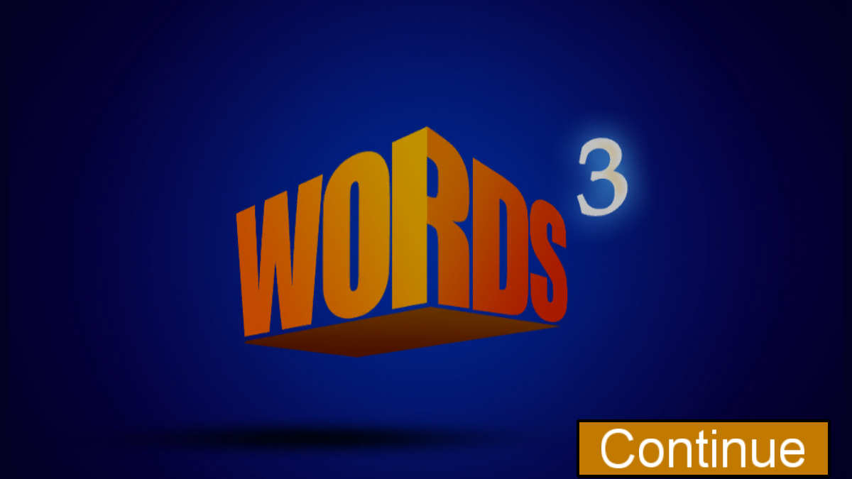 Words Cubed - screenshot