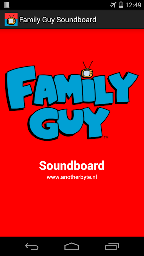 Family Guy Soundboard