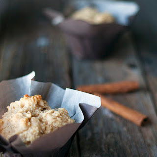 Brown Sugar and Cinnamon Oatmeal Muffins.