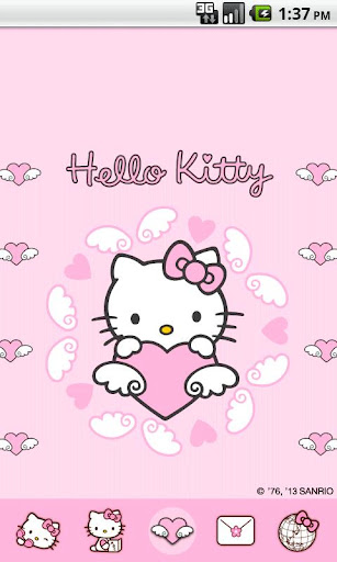 Hello Kitty AngelHeart Theme