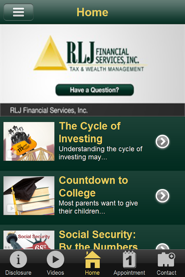 RLJ Financial Services Inc- screenshot