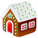 Gingerbread House Maker 3D icon