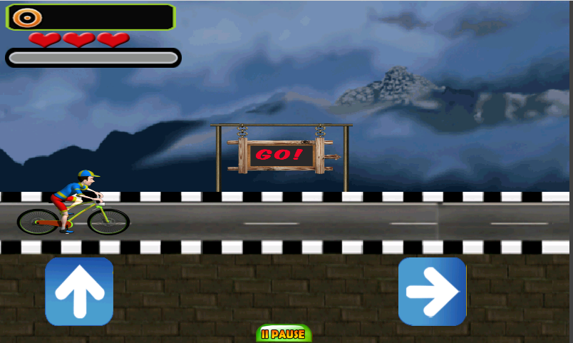 Cycle Boy 3D- screenshot