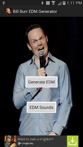Bill Burr EDM Generator