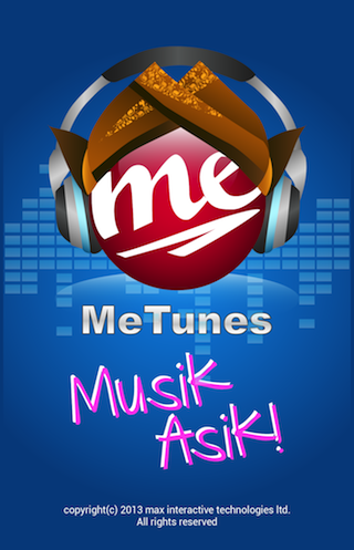 MeTunes - screenshot