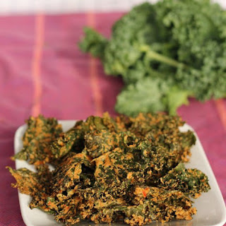 Cheesy Kale Chips.